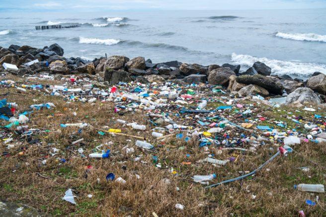 Plastssøppel