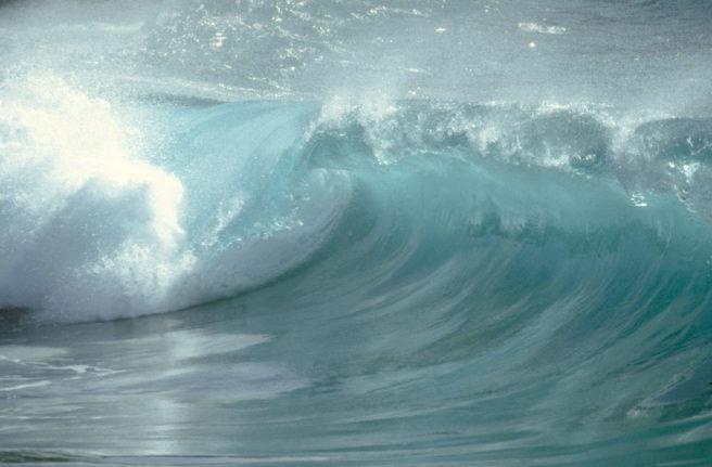 En stor bølge