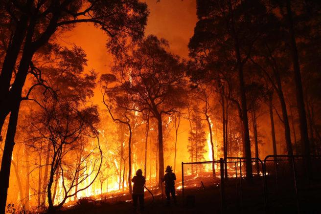 Austalia brann