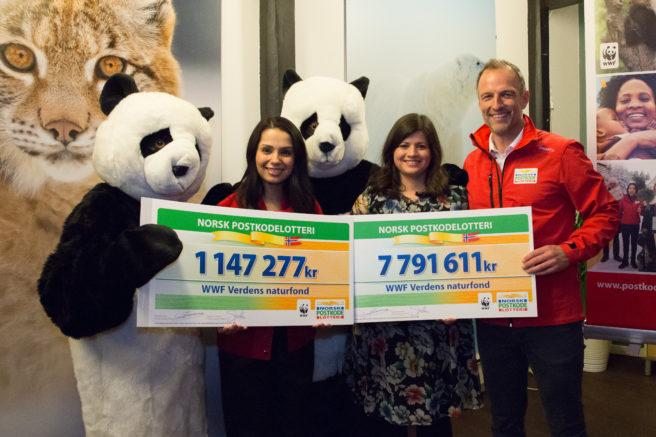 WWF mottok 7 791 611 kroner